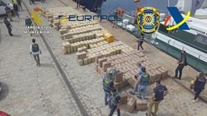 Autoridades apreenderam 15 toneladas de haxixe da rede criminosa