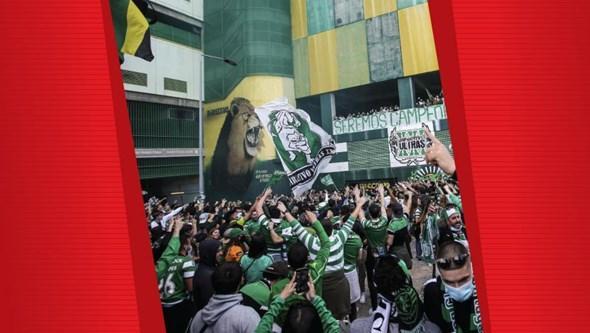 PSP dispara 617 balas para travar festejos do Sporting campeão