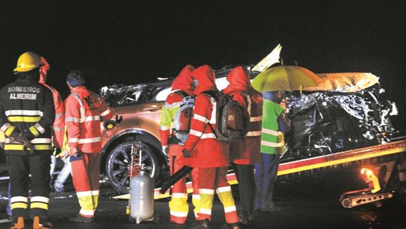 GNR desconhece velocidade do carro em que seguia Sara Carreira