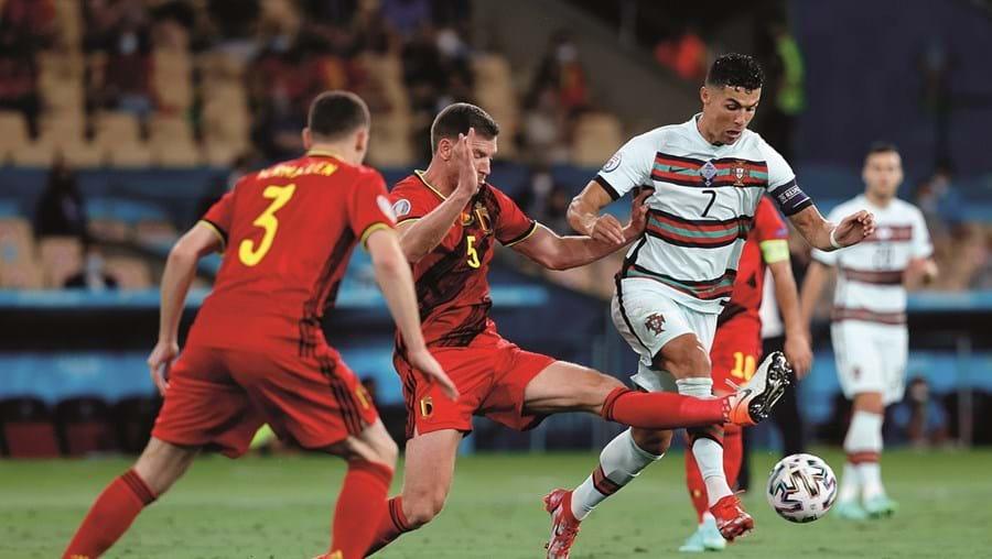 Jogo entre Portugal e a Bélgica, na TVI, foi o mais visto do Euro 2020, e, também, o programa mais visto do ano