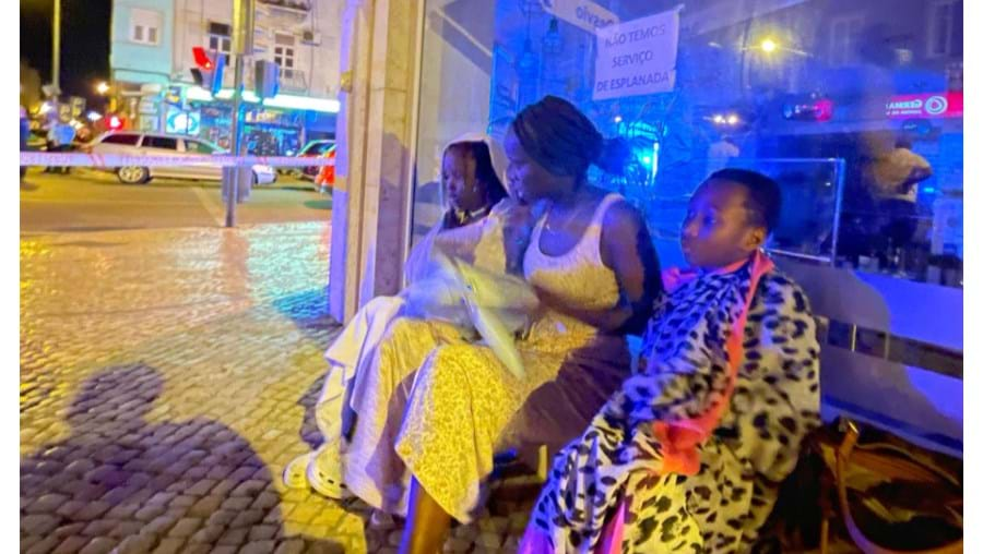 Família conta ao CM como escapou ao horror das chamas em prédio de Lisboa