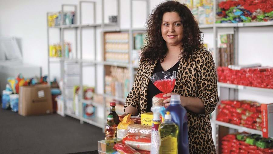 Inês Sales, da União Audiovisual, associação que tem ajudado o setor da cultura com cabazes alimentares