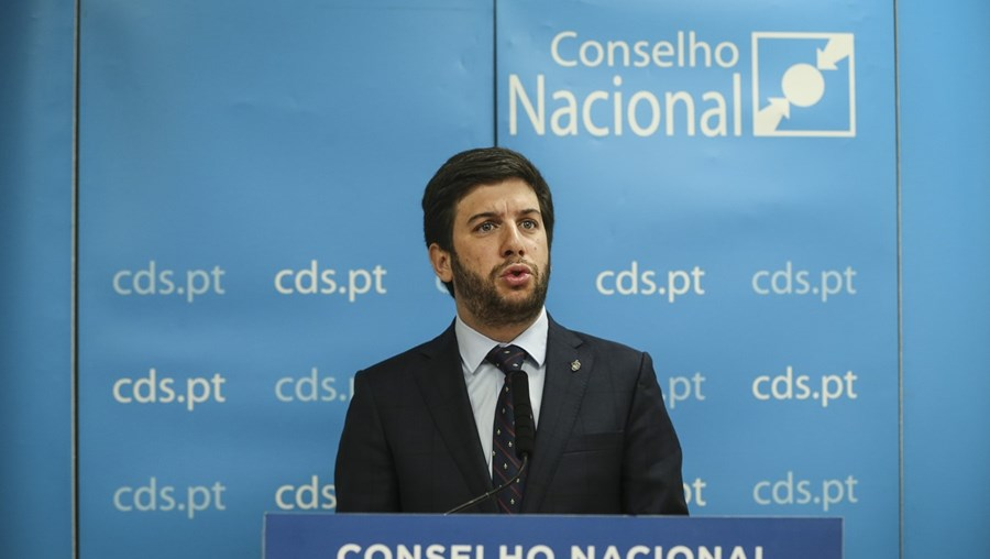 Líder do CDS, Francisco Rodrigues dos Santos