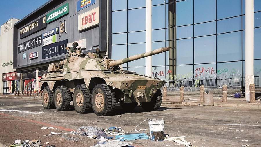 Exército tem patrulhado as ruas nos últimos dias