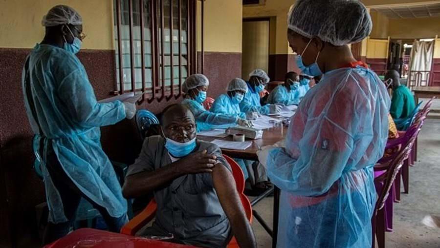 Vacinação contra a Covid-19 na Guiné
