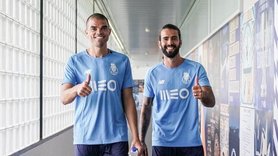 Sérgio Oliveira e Pepe