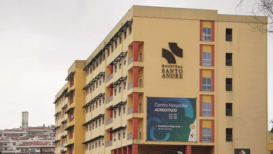 Hospital de Santo André, em Leiria