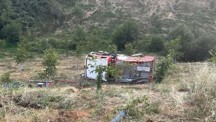 Dois bombeiros de Vinhais morrem em acidente a caminho do fogo