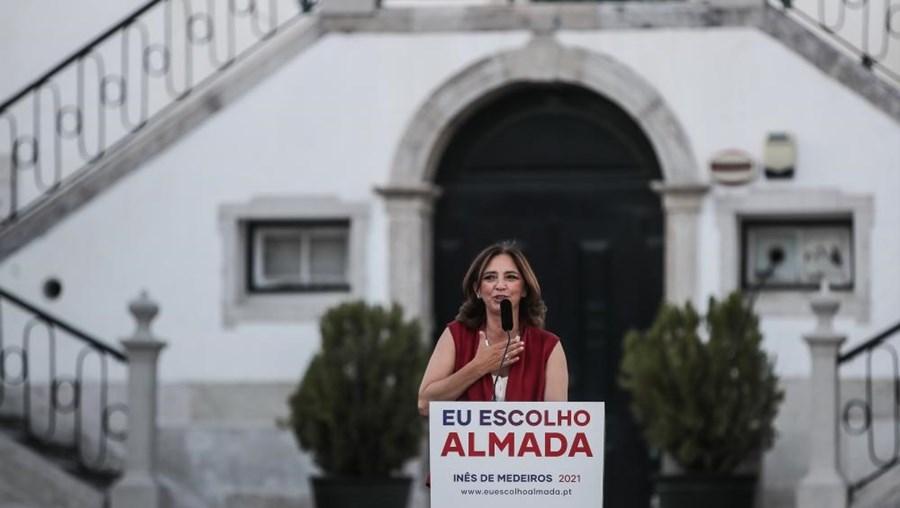 Inês Medeiros recandidata-se a Almada com objetivo de 'agir' em vez de 'apregoar'