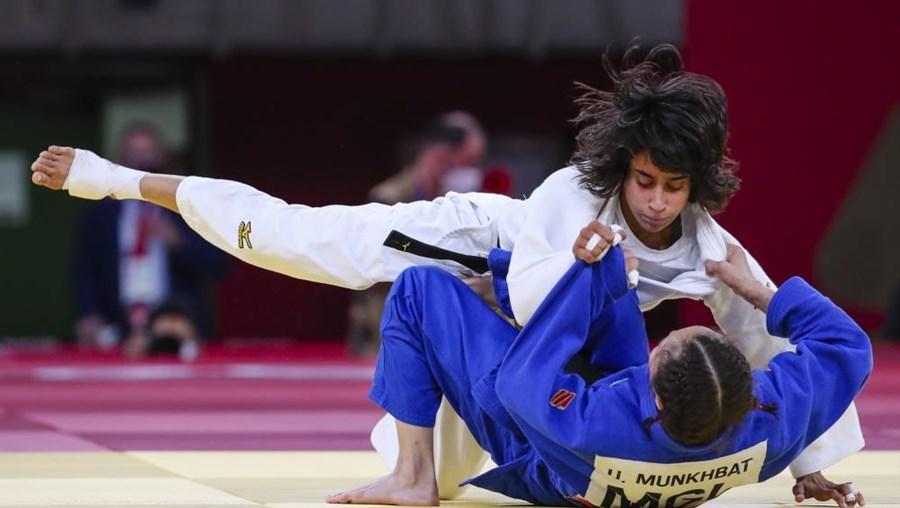 Catarina Costa perdeu a luta pelo bronze com Munkhbat