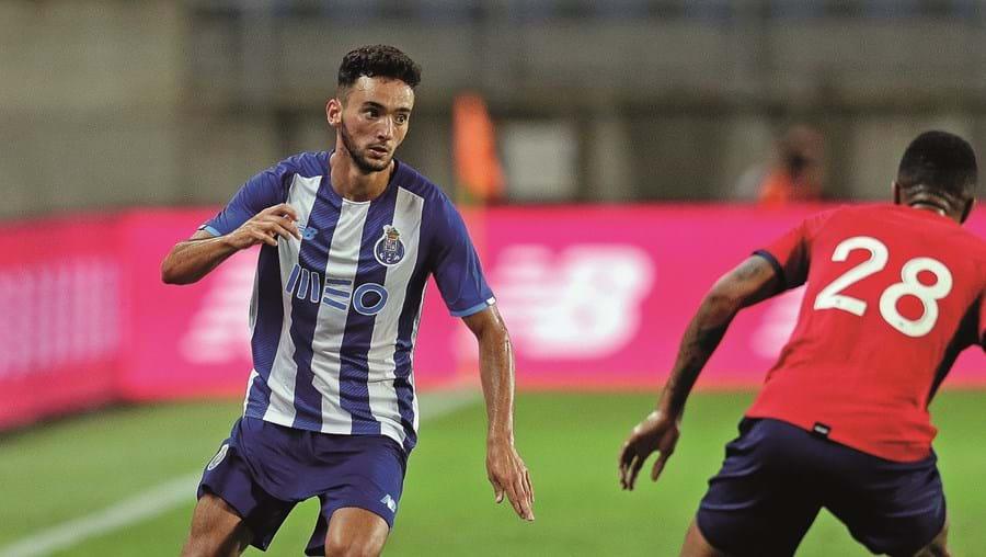 João Mário brilhou na jogada do primeiro golo com uma arrancada de 70 metros, em que passou por três adversários
