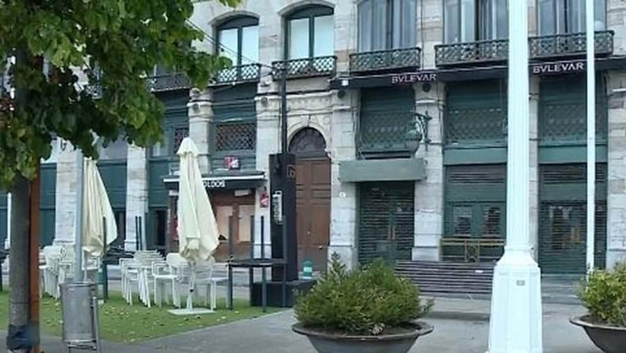 Bar 'BVLEVAR', onde rapazes portugueses e jovens espanholas se conheceram