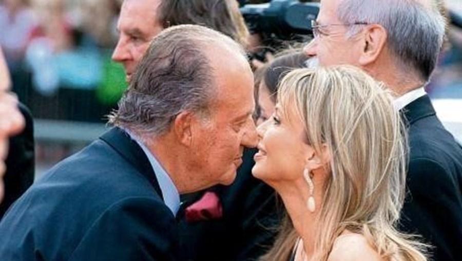 Juan Carlos e Corinna Larsen mantiveram uma relação entre 2004 e 2009