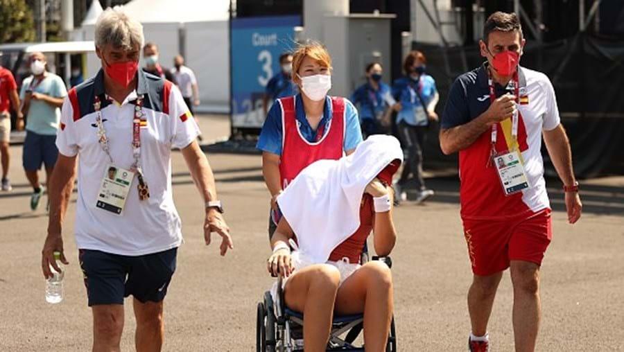Tenista Paula Badosa desiste do torneiro em Tóquio