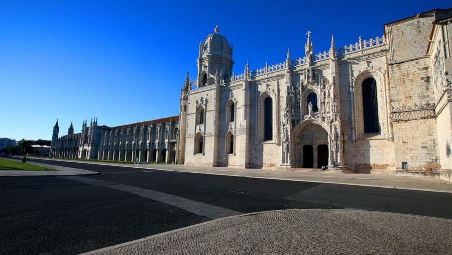 Mosteiro dos Jerónimos foi o mais visitado, ainda assim com uma quebra de 80 por cento nas entradas