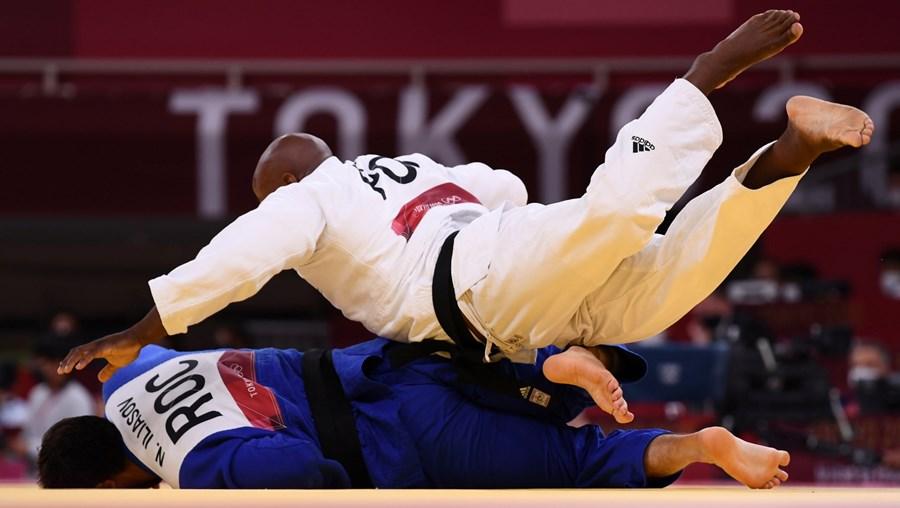 Jorge Fonseca de Portugal em ação contra Niiaz Iliasov