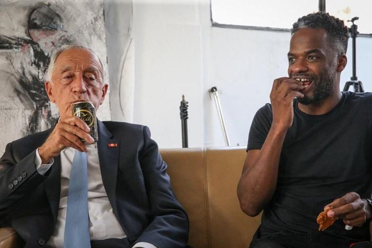 Presidente da República esteve à conversa com jovens artistas angolanos