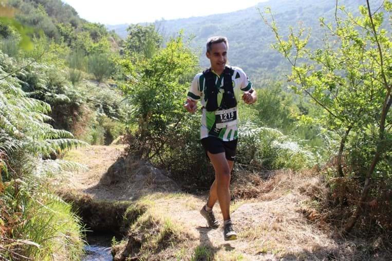Marílio Costa Leite numa das últimas fotos feitas durante o trail Rota das Capelas