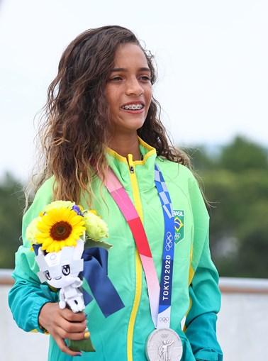 Rayssa Leal fez história no Brasil com a prata