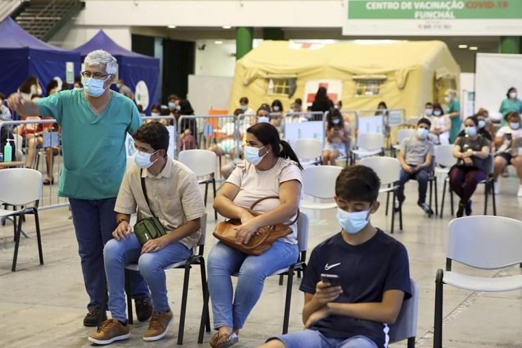 Vacinação dos adolescentes na Madeira