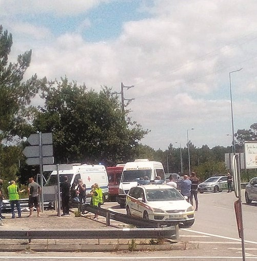 Motociclista morre a caminho de almoço convívio em Viana do Castelo