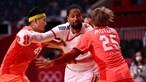 Seleção portuguesa de andebol fora dos Jogos Olímpicos ao perder com o Japão