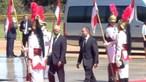 Marcelo recebido por Bolsonaro em Brasília para encontro presidencial. Veja em direto