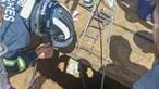 Homem de 70 anos resgatado após queda num poço em Vila Nova de Gaia