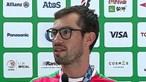 """""""Ainda estou a sentir o peso da medalha"""": Fernando Pimenta chega a Lisboa após conquista do bronze"""