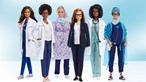 Barbie lança bonecas para homenagear mulheres envolvidas na luta contra a Covid-19