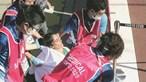 Maratona de sacrifício acaba com atleta desmaiada