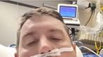 Homem internado com Covid-19 lamenta não ter sido vacinado e faz pedido especial ao filho