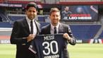Messi aponta à Champions na chegada ao PSG