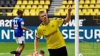 Golo de Haaland nos descontos dá vitória ao Dortmund sobre Hoffenheim