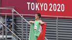 Marcelo e Costa deram os parabéns a Miguel Monteiro pela medalha de bronze