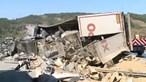 Despiste de camião causa ferido grave na A23 em Vila Velha de Rodão