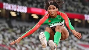 Patrícia Mamona com novo recorde nacional ultrapassa os 15 metros no triplo salto