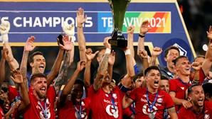 Lille conquista Supertaça de França ao vencer o PSG com golo de português