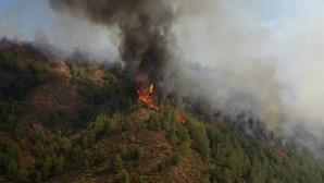 Imagens de drone captam a dimensão e devastação dos fogos na Turquia