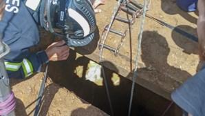 Homem de 64 anos resgatado após queda num poço em Vila Nova de Gaia