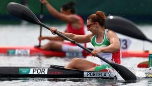 Canoísta Teresa Portela falha apuramento para a final de K1 200 nos Jogos Olímpicos
