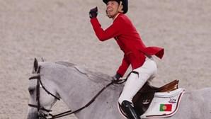 Cavaleira Luciana Diniz apurada para a final de saltos de obstáculos nos Jogos Olímpicos de Tóquio 2020