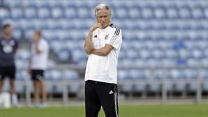 """""""O Benfica tem uma vontade muito forte de passar esta eliminatória"""", diz Jorge Jesus"""