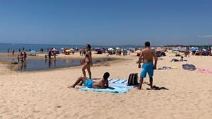 30 praias lotadas durante a manhã de terça-feira em todo o País