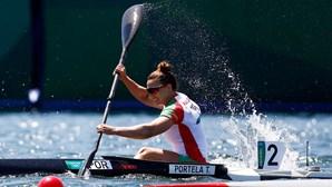 Canoísta portuguesa Teresa Portela apura-se para as 'meias' de K1 500 metros