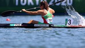 Canoísta Joana Vasconcelos eliminada nos 'quartos' em K1 500 metros