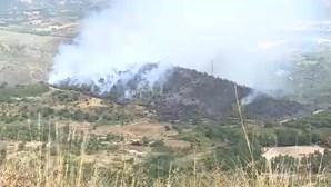 Incêndio em Tabuaço combatido por mais de 150 bombeiros e seis meios aéreos