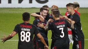 Benfica vence Spartak Moscovo em primeiro desafio rumo à fase de grupos da Liga dos Campeões