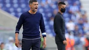 Sérgio Conceição resignado com indefinições no FC Porto