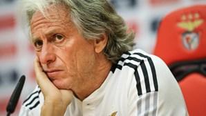 Jorge Jesus lembra que principal objetivo do Benfica é conquistar a I Liga